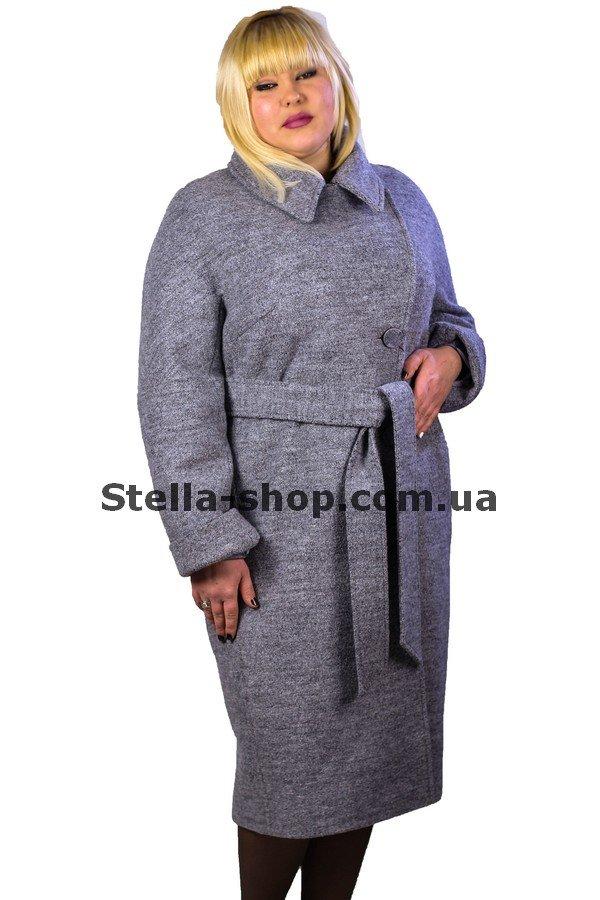 209372ca4624 Пальто удлиненное серое с поясом. Kovash. Пандора купить в по цене 2 ...