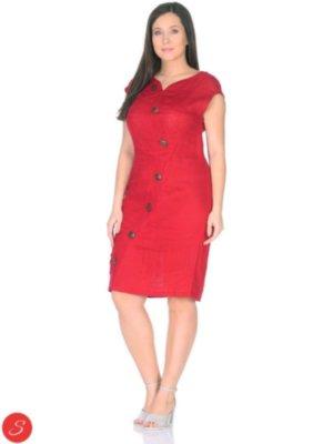 7e357f6df25be35 Льняные платья в Украине — купить в интернет магазине «Stella-Shop»