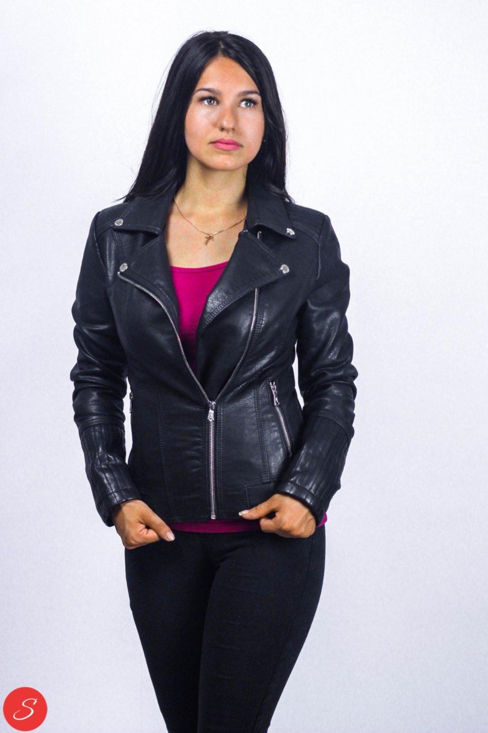 7ac23ca5eef Купить Куртка кожзам черная косуха Lanmas. 5855 по цене от 1 000 грн.