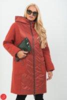 429b72d5f37 Купить Комбинированное пальто кашемир-болонья. Granis. 112 по цене ...